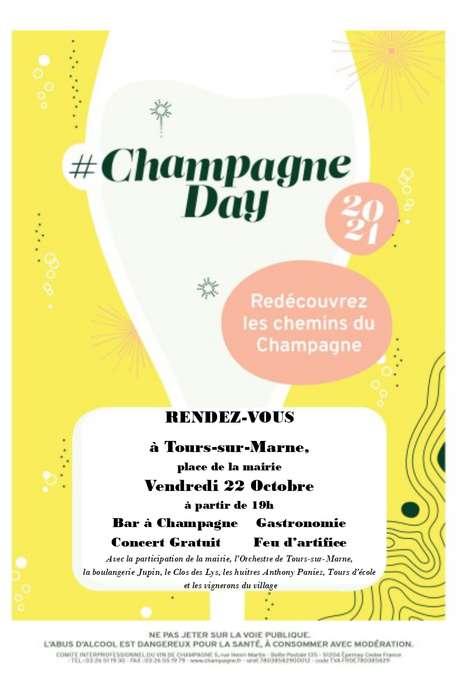 Champagne Day à Tours-sur-Marne