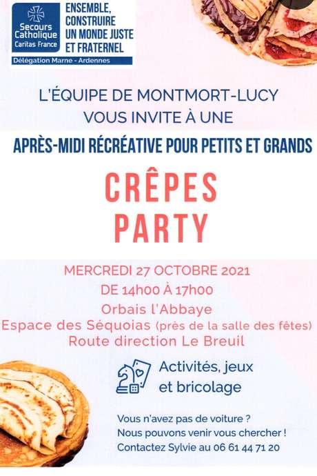 Crêpes Party - Après-midi récréative