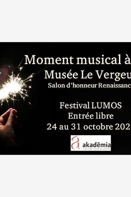 Moment musical au Musée Le Vergeur
