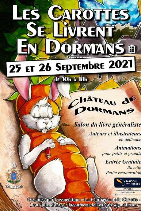 """Salon du livre 2021 : """"Les Carottes se livrent en Dormans"""""""