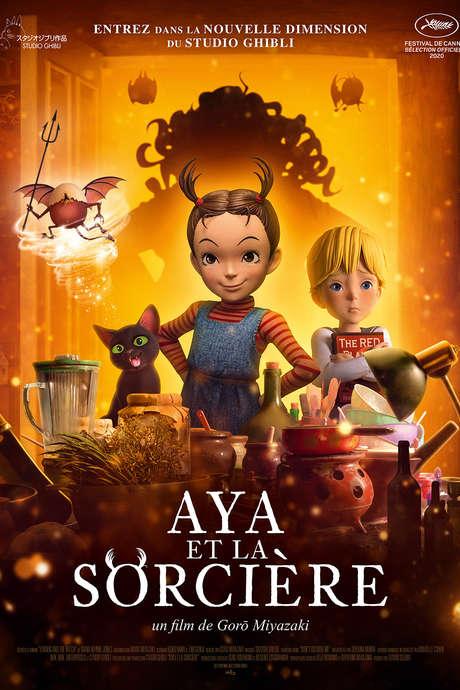 Projection : Aya et la Sorcière