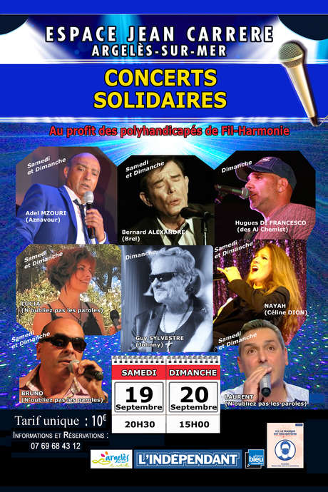 CONCERTS SOLIDAIRES