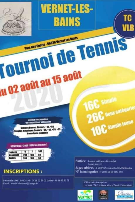 TOURNOI OFFICIEL DE TENNIS