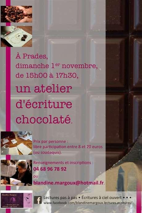 ATELIER D'ÉCRITURE CHOCOLATE