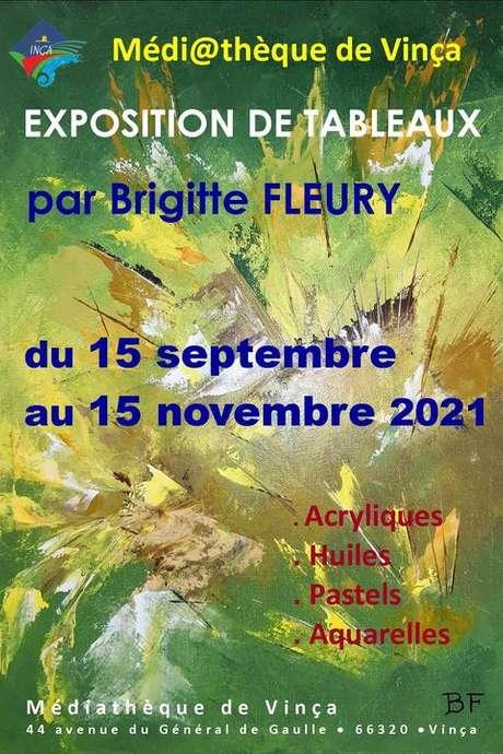 EXPOSITION DES OEUVRES DE BRIGITTE FLEURY