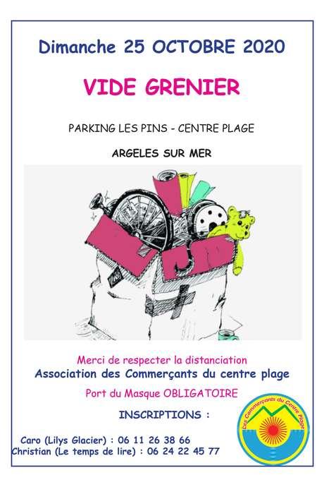 VIDE GRENIER DES COMMERCANTS DU CENTRE-PLAGE