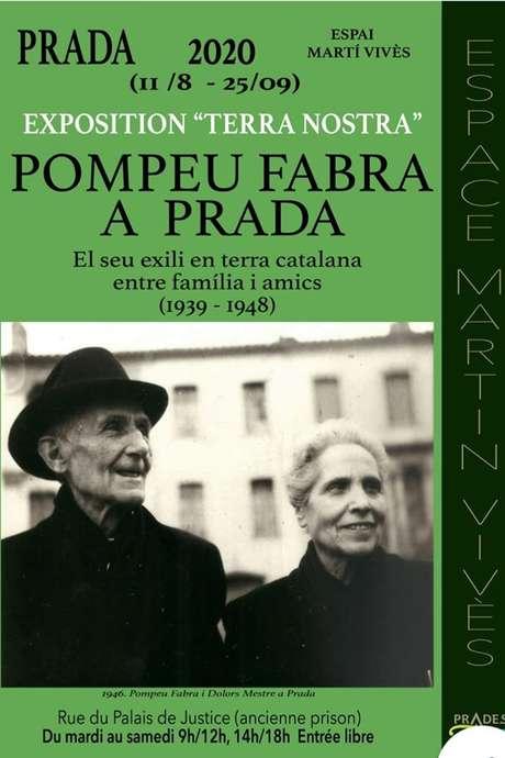 "EXPOSITION ""POMPEU FABRA"""