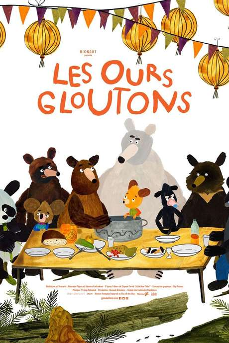 CINEMA DES ENFANTS : LES OURS GLOUTONS