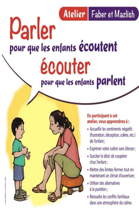 Cercle de Parents avec dîner partagé possible