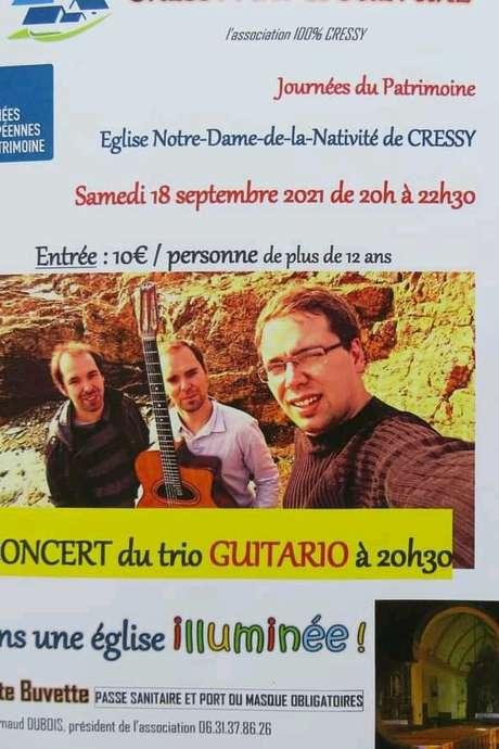 Journées du Patrimoine : Concert et église illuminée à Cressy