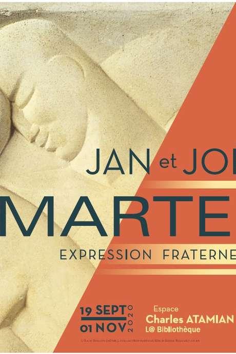 """EXPOSITION """"JAN & JOËL MARTEL : EXPRESSION FRATERNELLE"""""""