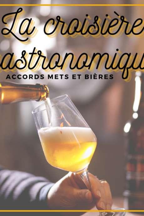 Croisière accords mets et bières sur la Meuse