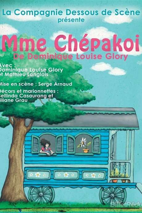 Spectacle jeune public - Théâtre chou - Madame Chépakoi