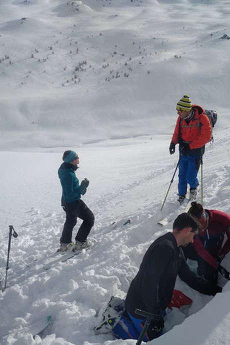 Atelier neige et prévention des avalanches