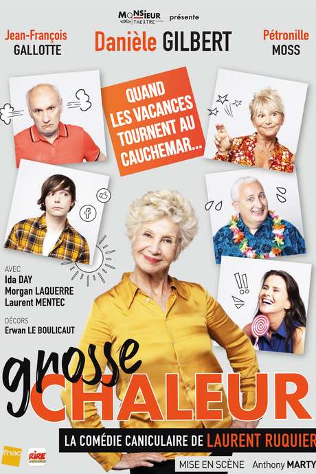 """Théâtre : """" Grosse chaleur"""""""