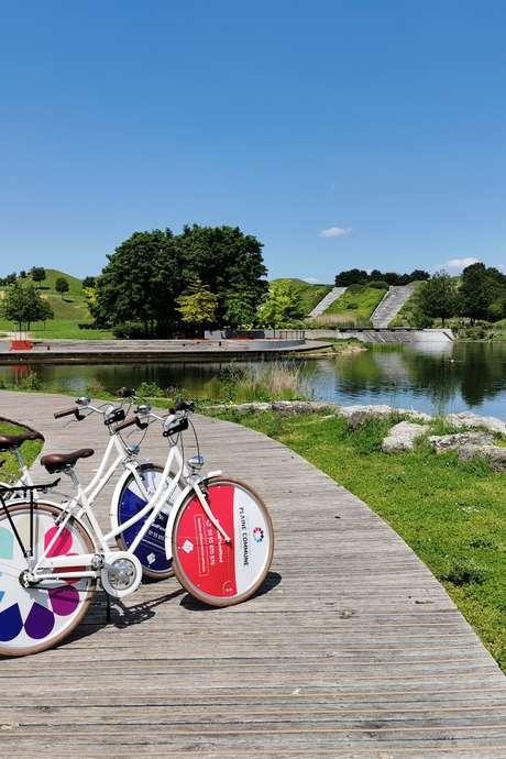 A vélo de Villetaneuse à La Courneuve