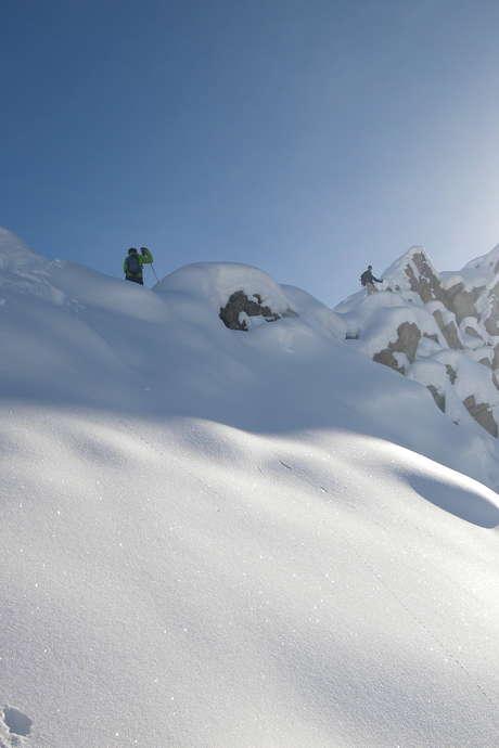 Raquette, neige et plaisir