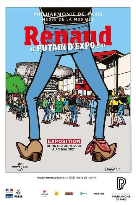 Renaud, « Putain d'expo ! »