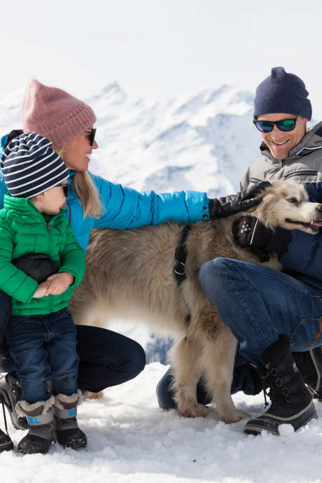 Chance to meet a musher and her dogs
