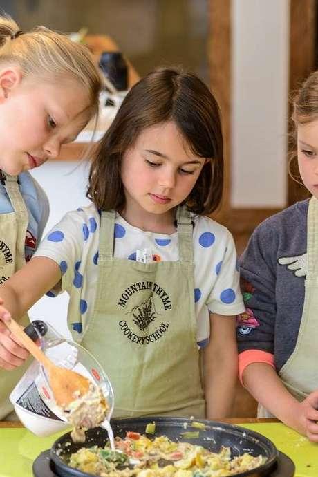 Cookery workshop for children