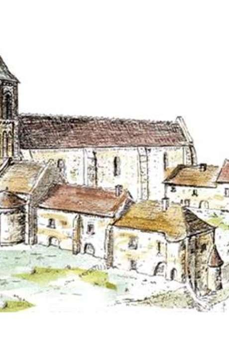 L'abbaye Sainte-Croix d'Angles-sur-Anglin