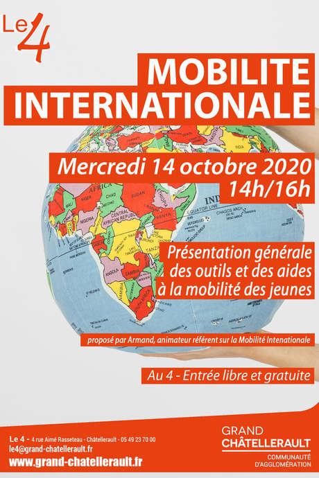 """Atelier """"Mobilité Internationale"""""""