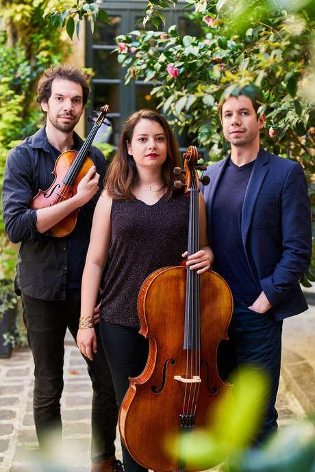 Reporté .TRIO METRAL, piano, violon, violoncelle, Automne Musical