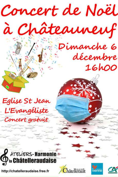 Concert de Noël des Ateliers Harmonie La Châtelleraudaise