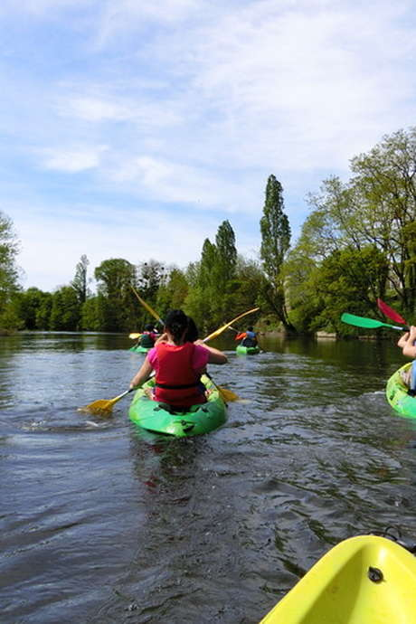 Sortie canoë-kayak