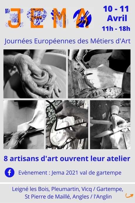 JEMA : Découvrez les ateliers d''Artisans d''Art