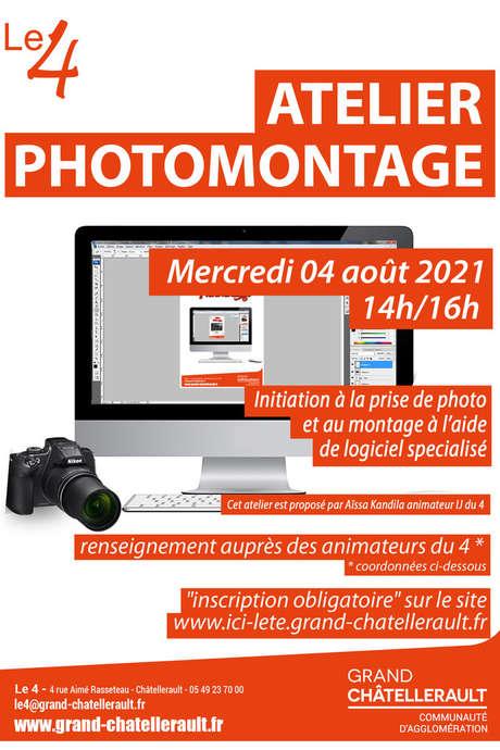 Atelier photomontage - Ici l''été 2021