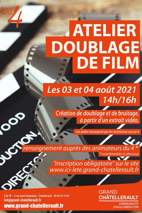Atelier doublage de film