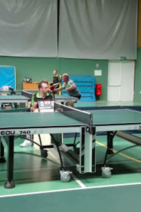 Séance tennis de table
