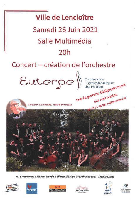 Concert création de l''orchestre