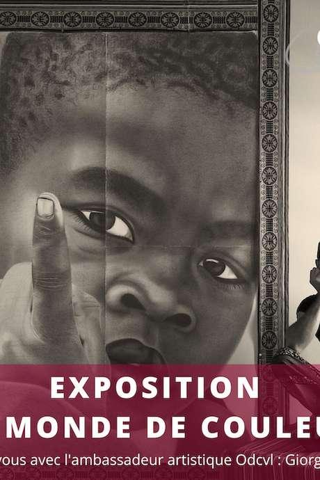 EXPOSITION 'UN MONDE DE COULEURS'