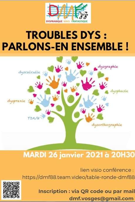 LES TROUBLES DYS : PARLONS-EN ENSEMBLE !