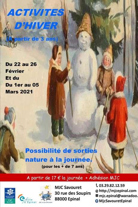 ACCUEIL DE LOISIRS HIVER 2021