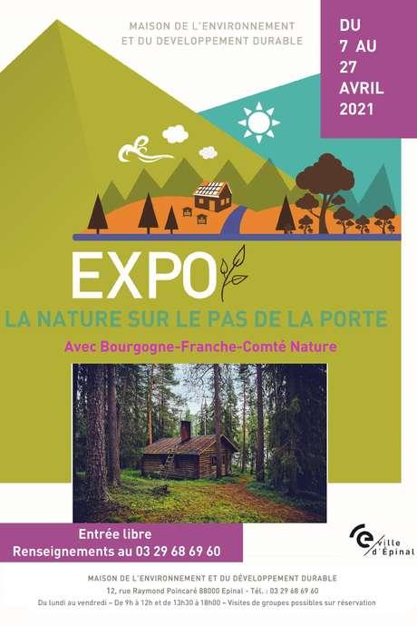EXPOSITION: LA NATURE SUR LE PAS DE LA PORTE
