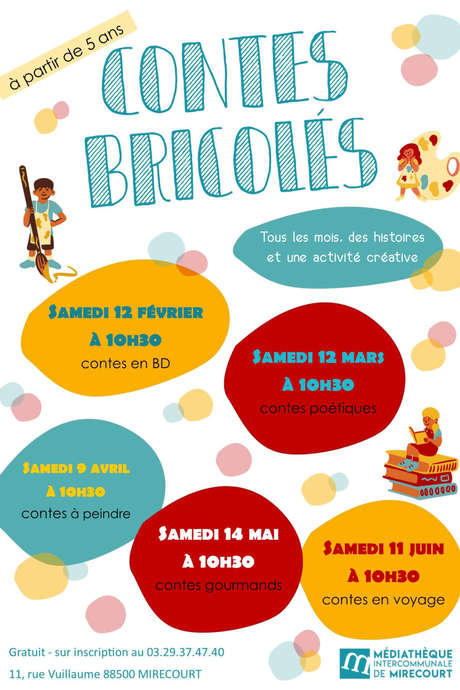 CONTES BRICOLÉS - CONTES DES COLLECTIONS
