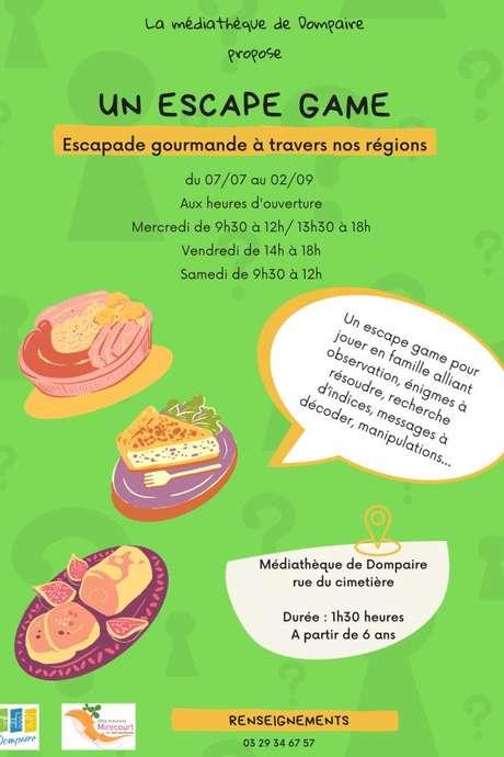 ESCAPE GAME - QUAND AMSTRONG PART À LA RECHERCHE DE THOMAS