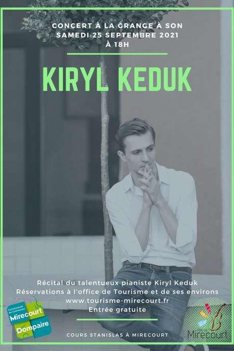 CONCERT - RÉCITAL DE PIANO PAR KIRYL KEDUK