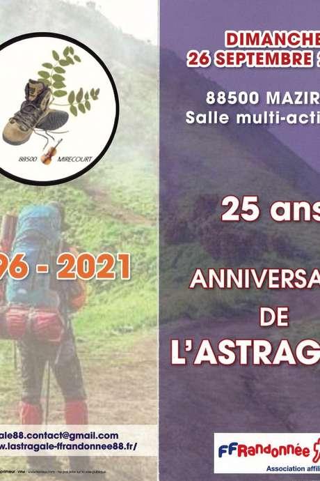 RALLYE PÉDESTRE POUR L'ANNIVERSAIRE DES 25 ANS DE L'ASTRAGALE