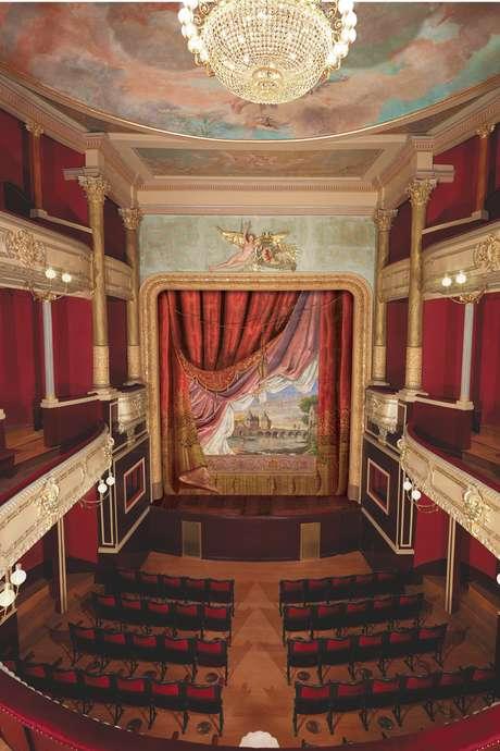 Un théâtre du XIXe dans une ancienne chapelle