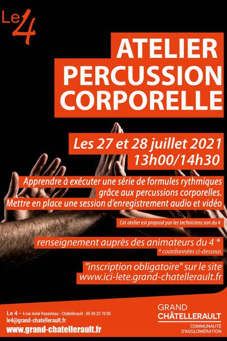Atelier percussion corporelle