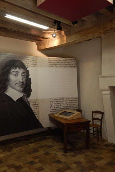 Découvrez le lieu de séjour d'enfance de René Descartes