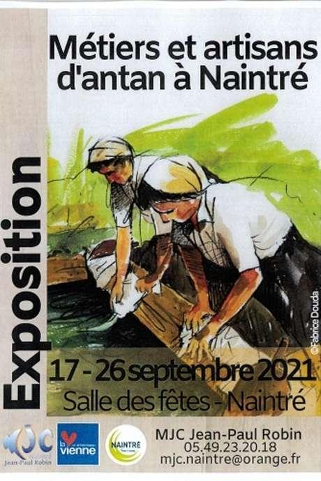 Métiers et artisans d'antan à Naintré
