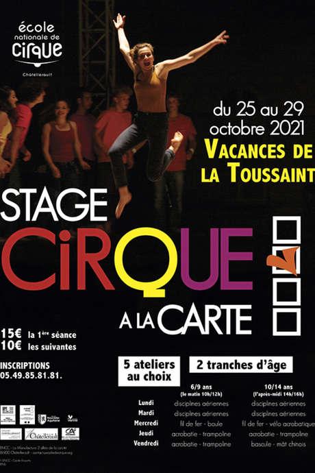 Stage cirque à la carte