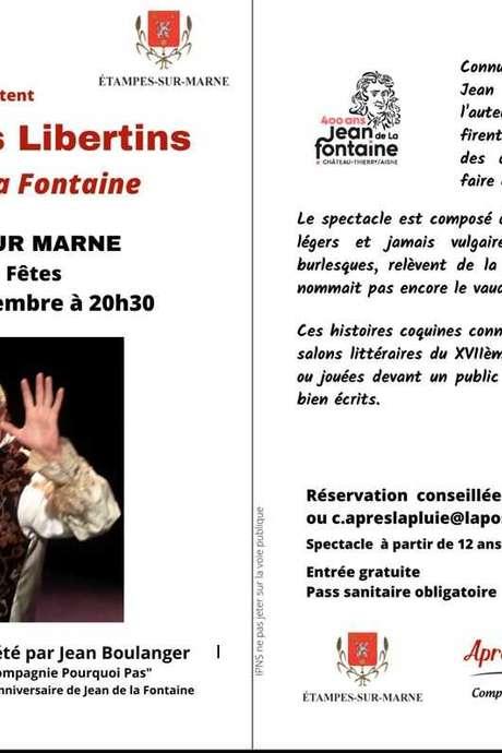 THEATRE : Les Contes Libertins