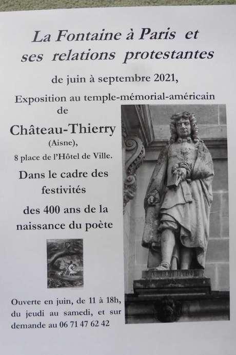 """Conférence : """" La Fontaine à Paris et ses relations protestantes"""""""