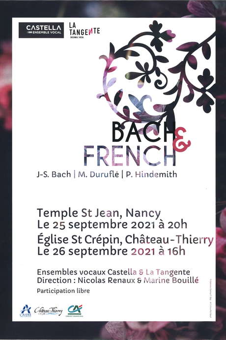 CONCERT :Bach & French